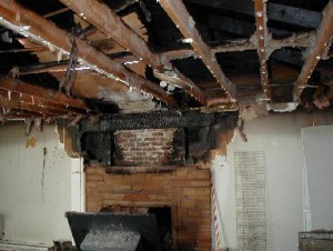 Michigan Fire Damage cleanup